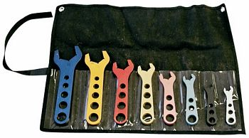 A N Full Wrench Set In Fold-Over Pouch.